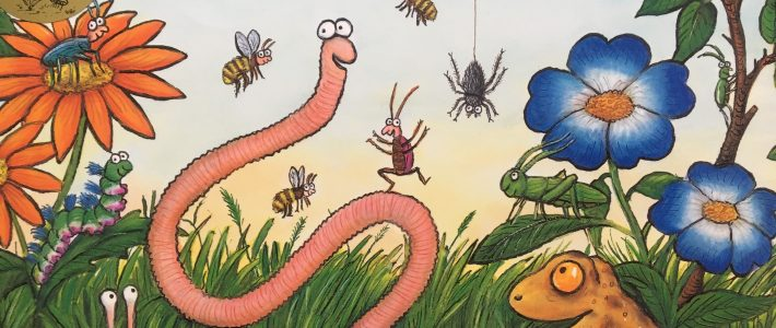 Superworm StoryTime In The Garden